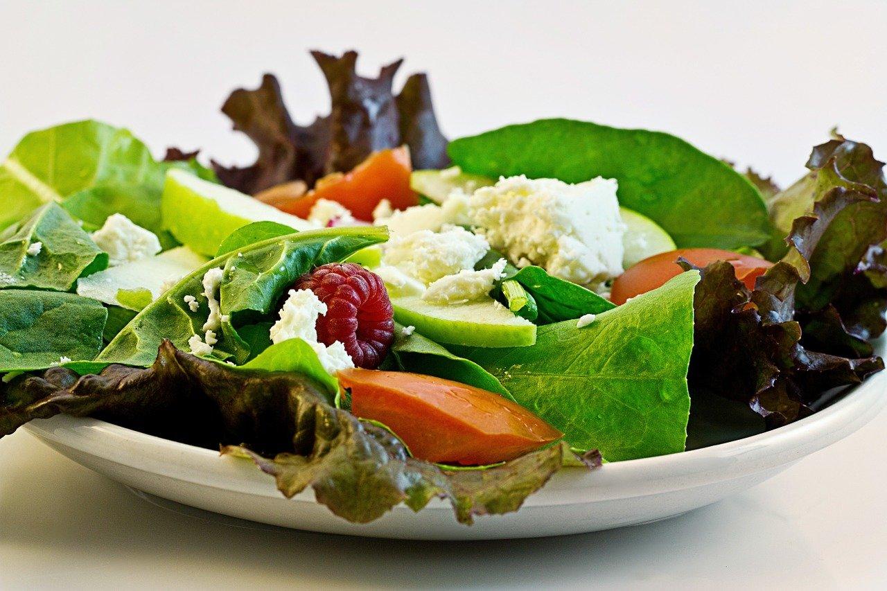 Alimentação saudável na escola.