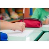escola particular infantil de meio período