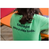procuro por escola particular infantil com aulas bilíngue Guará