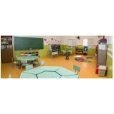escola com aula para educação infantil Guará